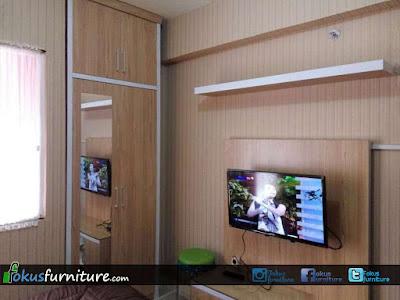 set furniture apartemen green pramuka