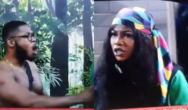 BBNaija 2019: Again, Tacha rains insults on Frodd over Seyi's matter [VIDEO]