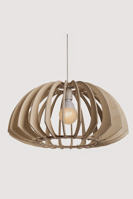 Wood & Bamboo Pendant Lights 12