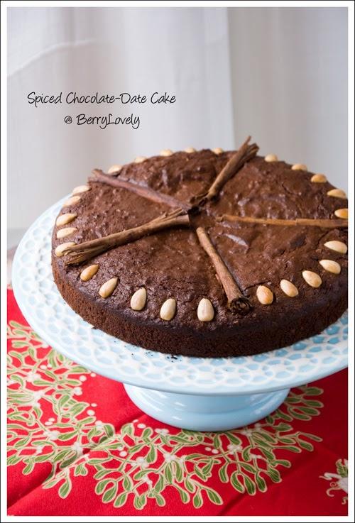 Easy Sugar Free Chocolate Cake Using Dates