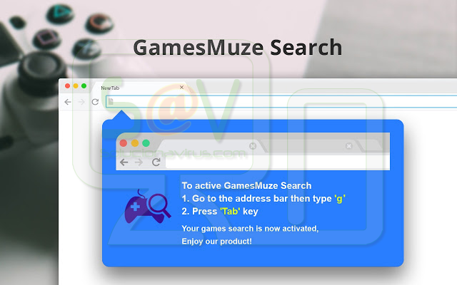 GamesMuze Search (New Tab)