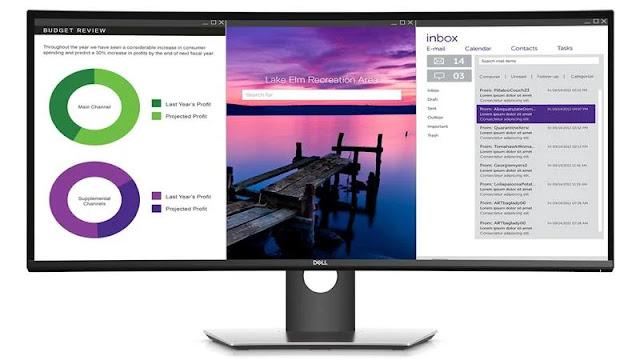 10. Dell UltraSharp U3419W
