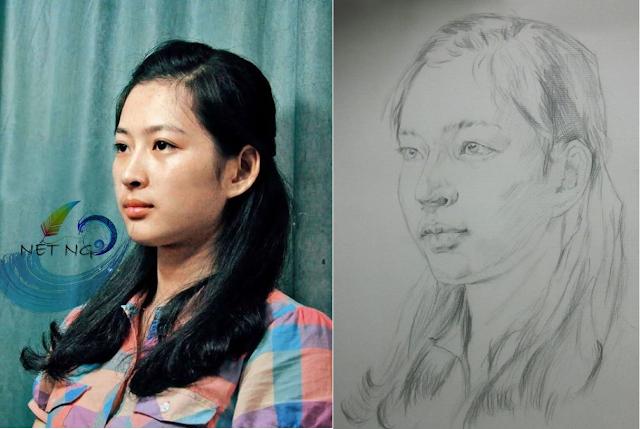 HỌC VẼ CHÂN DUNG TẠI TP. HỒ CHÍ MINH