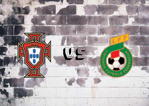 Portugal vs Lituania  Resumen y Partido Completo