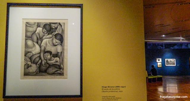 A Mãe Proletária, quadro de Diego Rivera no Museu de Arte Moderna da Cidade do México