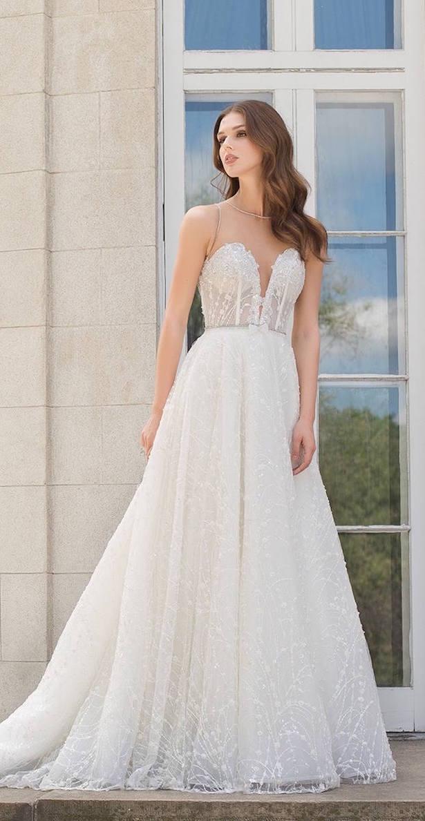 sencillos vestidos de novia