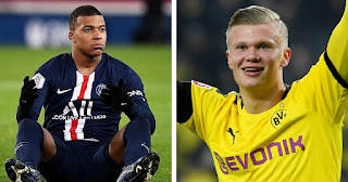Real Madrid are contemplating between signing Mbappe or Haaland in 2021