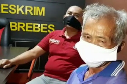 Ayah Sadis Penyiram Air Panas ke Anak Tiri di Brebes Ditangkap