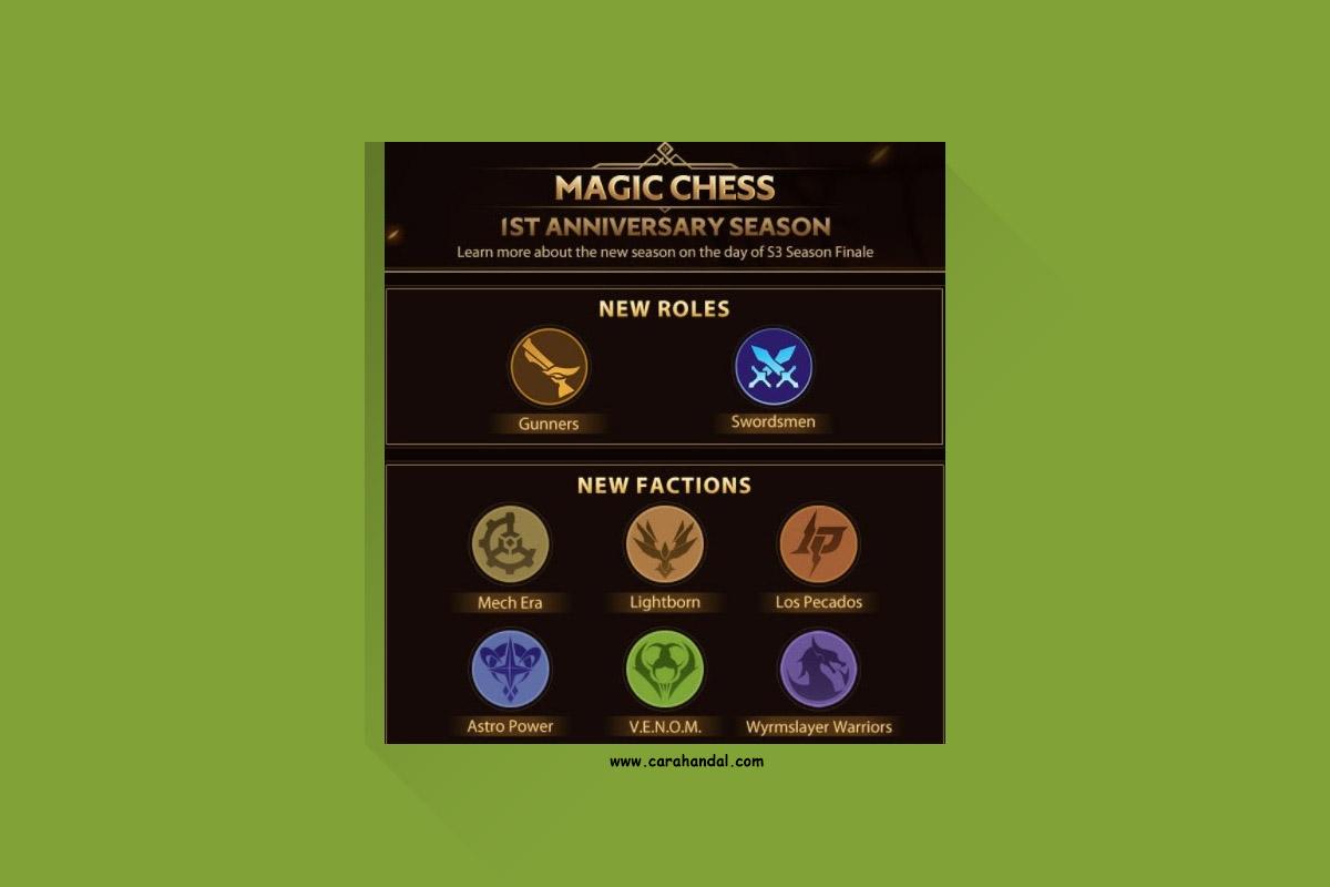 Ini Dia Combo Terbaik Untuk Push Rank Magic Chess Mobile Legends