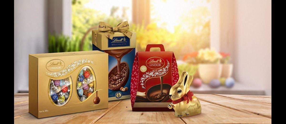 Promoção Chocolates Lindt Páscoa 2021 - Novidades e Lançamentos