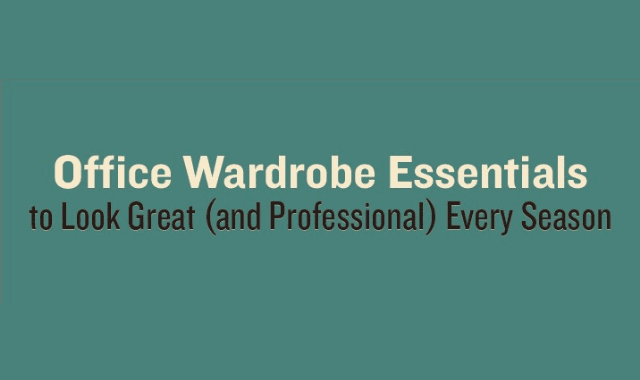 Office Wardrobe Essentials To Look Great (And Professional) Every Season