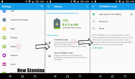 New Stamina Mode on Xperia Z5 Series really isn't the old Stamina Mode? | XperiBlog
