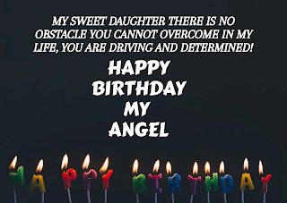 Happy Birthday My Daughter wishes, HD images, status, SMS, quotes in English for WhatsApp free download,