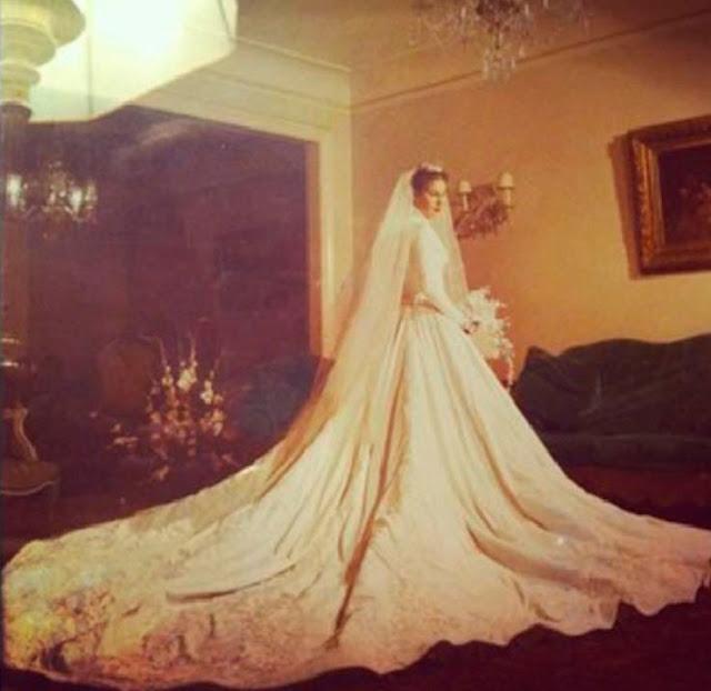 Maricy Trussardi vestido de noiva anos 50