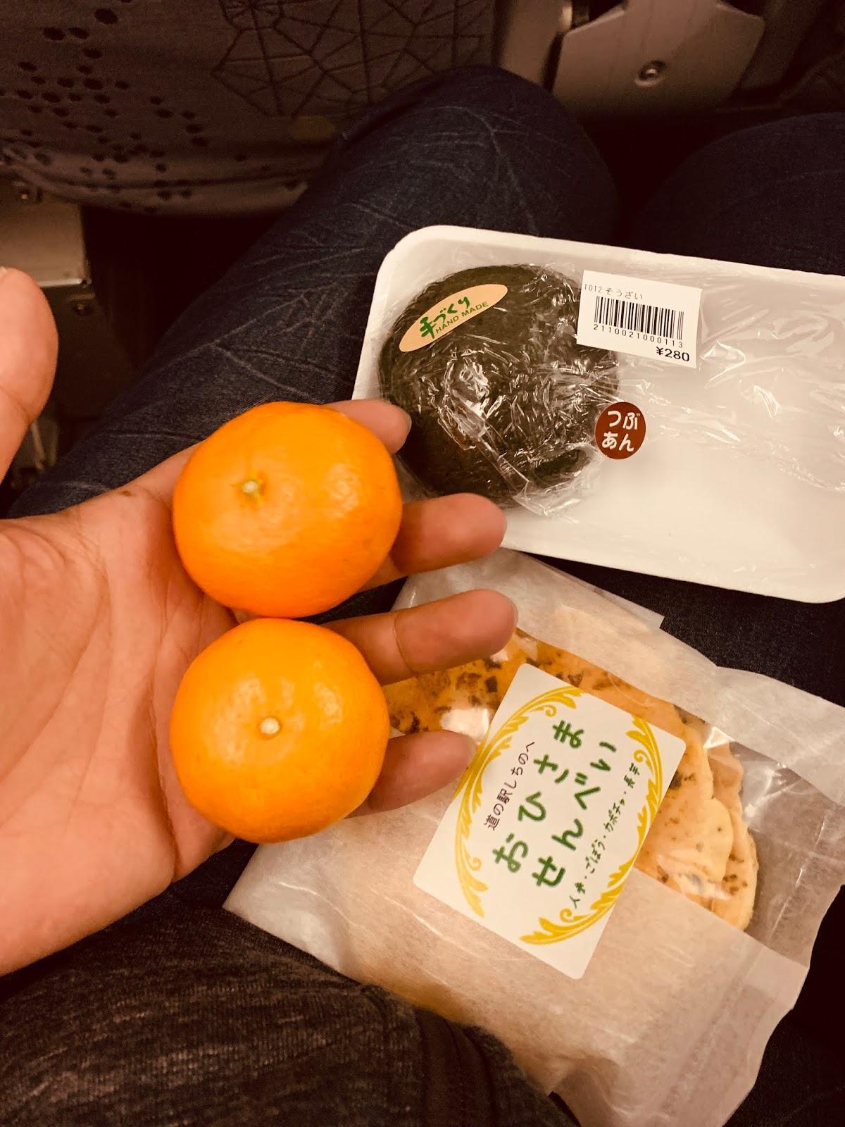 日本阿嬤給的小點心
