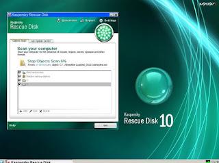 programma Kaspersky Rescue Disk