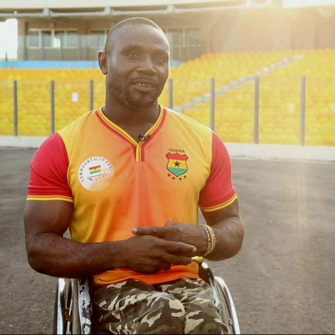 'I'm carrying the hopes of 5m disabled Ghanaians' - Wheelchair sprinter Nkegbe