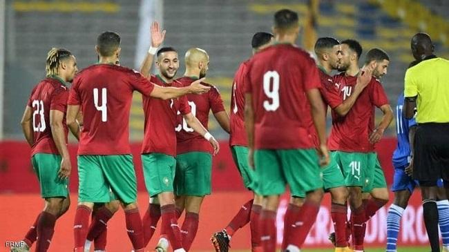 مباراة المغرب وبوركينا فاسو مباراة ودية