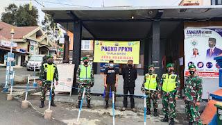 Jelang Yadnya Kasada Bromo, Anggota Kodim 0820/Probolinggo dan Aparat terkait lakukan Penyekatan