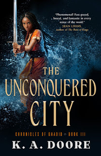 the unconquered city by k.a. doore