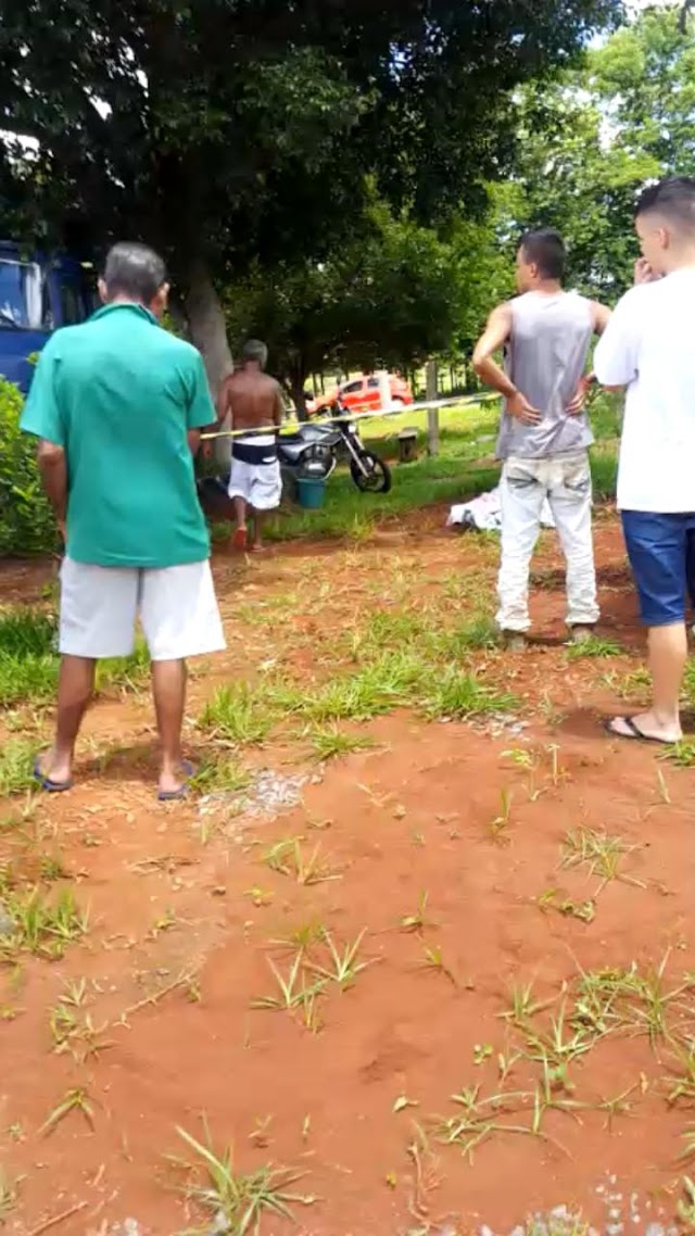 Anápolis: Homicídio no bairro da Lapa