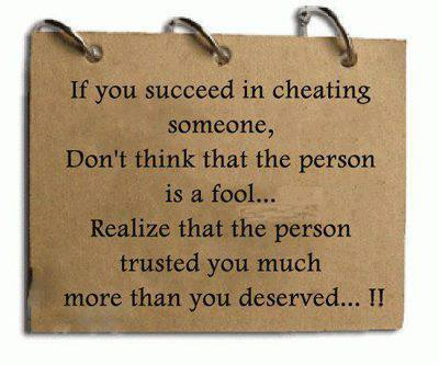 if you succeed in cheating someone quote pic