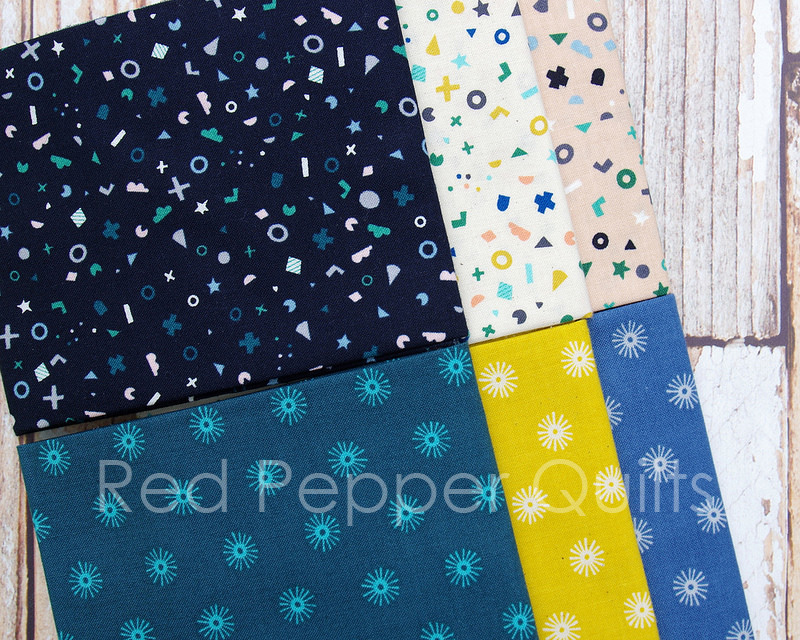 Kujira & Star by Rashida Coleman-Hale for Cotton + Steel | © Red Pepper Quilts 2017