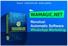 Tools WhatsApp Marketing yang serba otomatis