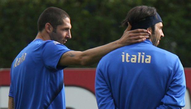 Buffon and Materazzi