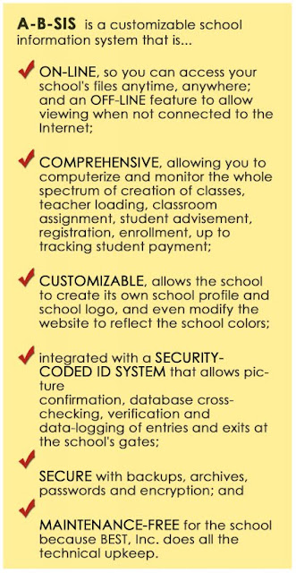A-B-Sis, Your Own School Information System