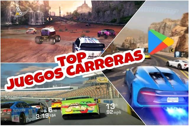 top MEJORES JUEGOS DE CARRERAS 2021 PARA ANDROID✅