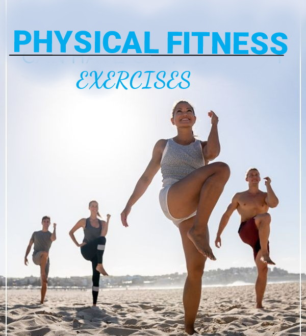 Types of Physical Fitness Exercises That Suitable to Most Peoples