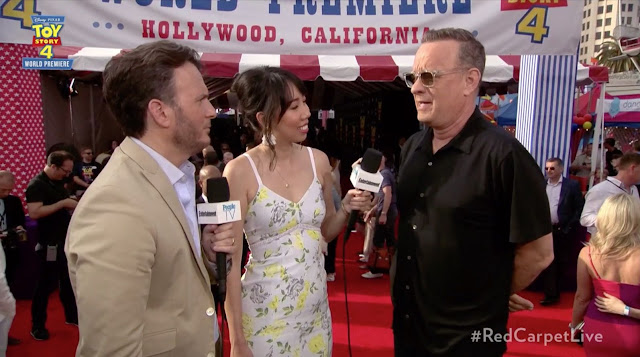 Toy Story 4 Tom Hanks Premiere