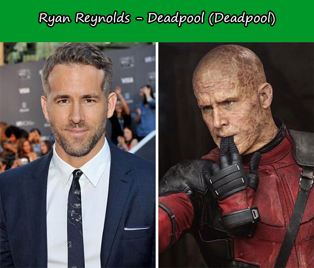 Ryan Reynolds - Deadpool (Deadpool)
