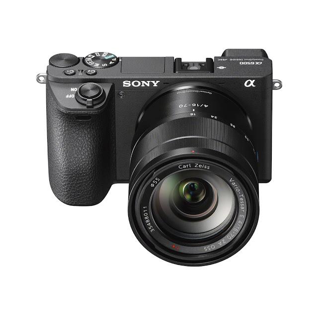 Fotografia della Sony A6500 con zoom 16-70mm