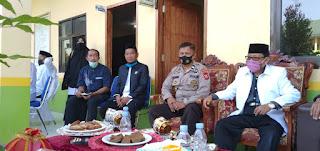 Upacara Hari Santri Nasional, Sat Binmas Polres Enrekang Hadir Sebagai Ketua Komite Di Pesantren Darul Falah
