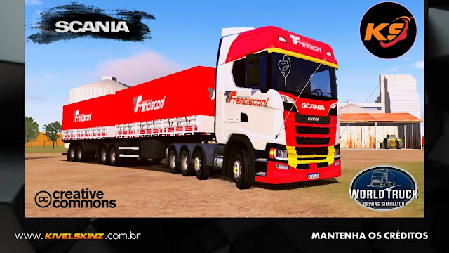 SCANIA S730 - TRANSPORTE FRANCISCONI