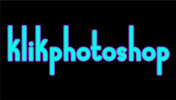 cara membuat garis tepi pada tulisan dengan photoshop