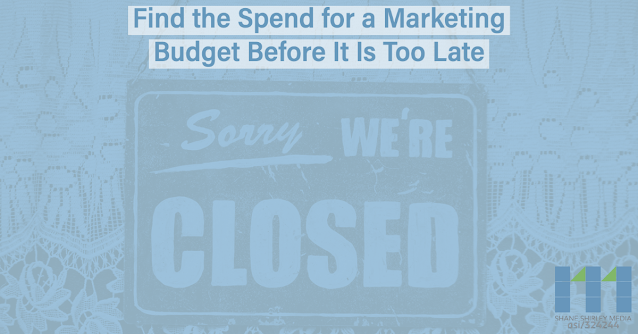 Find the spend for a marketing budget before its too late
