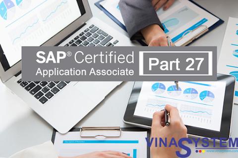 Bộ câu hỏi chứng chỉ SAP Business One (Phần 27)