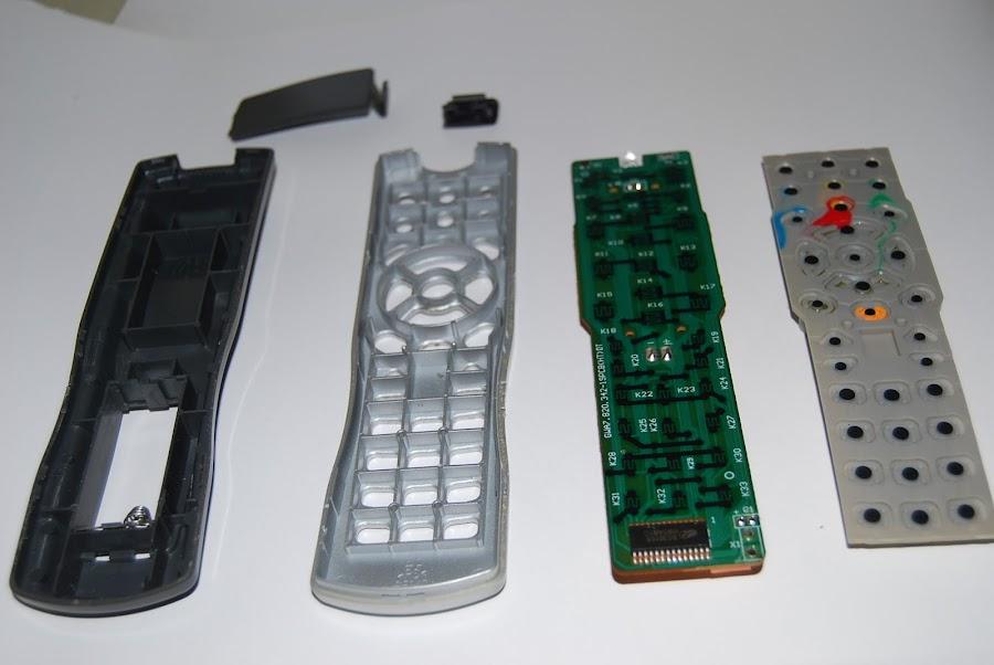 Como he reparado un mando a distancia