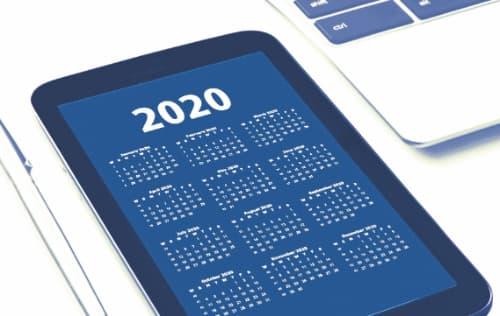 2020年 日銀の金融政策決定会合スケジュール