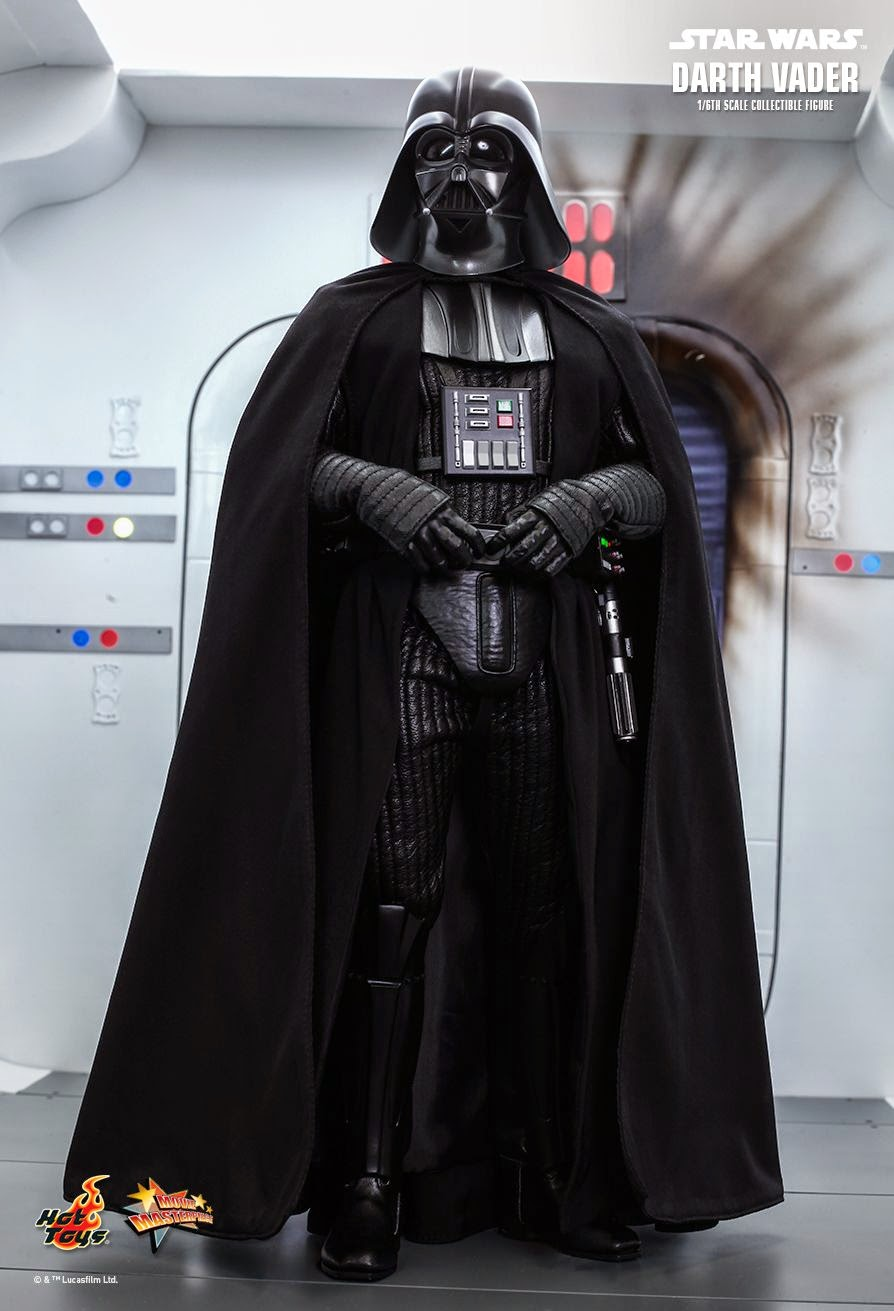 Toyhaven Hot Toys Star Wars Episode Iv A New Hope 1 6th Darth Vader 35cm 14 Collectible Figure