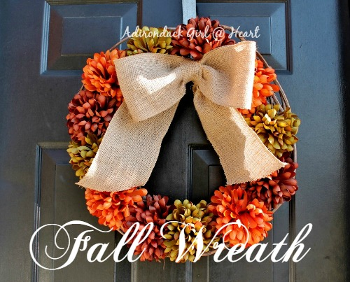 Festive Fall Wreath