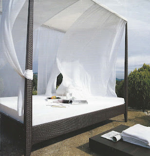 Cabana style beds, image via ad from unknown source, as seen on linenandlavender.net