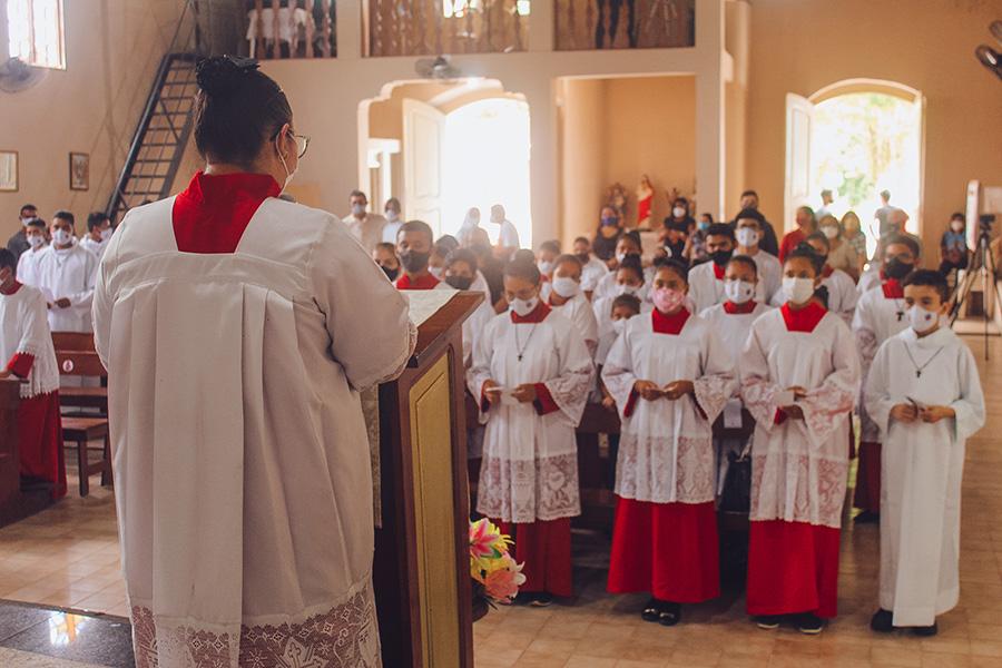 servidores do altar aquidiocese de belém