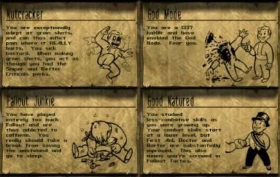 Fallout, aptitudes