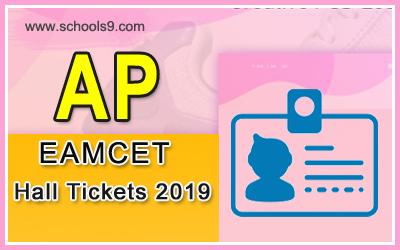 Andra Pradesh EAMCET Exam Hall Tickets 2019
