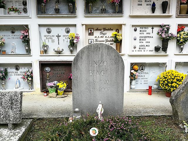 enzo biagi cimitero pianaccio