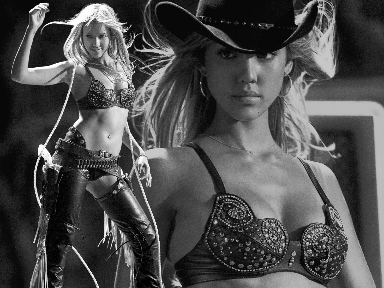Jessica Alba Nude In Sin City 47